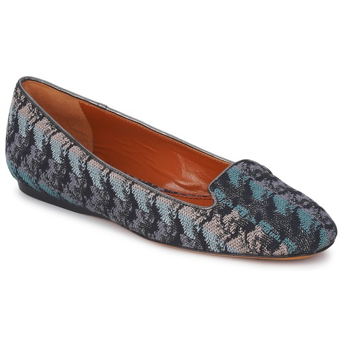 Missoni WM004 Blau Damen  Schuhe Slipper Damen Blau 369,60 6c981b