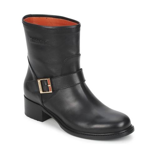 Schuhe Damen Boots Missoni WM028 Schwarz