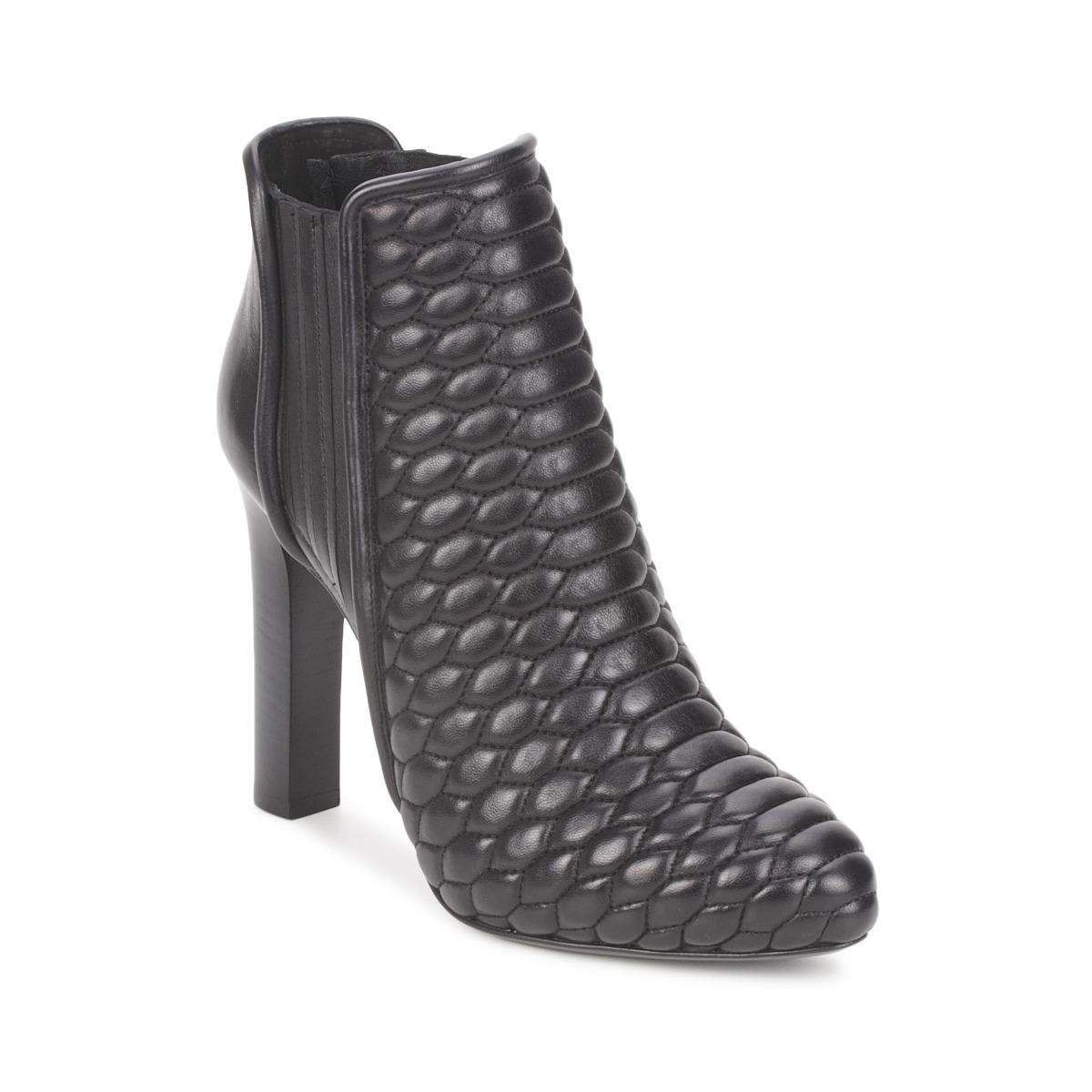 Roberto Cavalli WDS227 Schwarz - Kostenloser Versand bei Spartoode ! - Schuhe Low Boots Damen 424,50 €