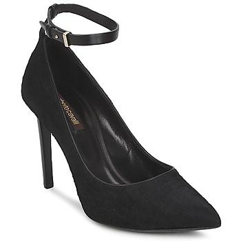 Schuhe Damen Pumps Roberto Cavalli WDS232 Schwarz