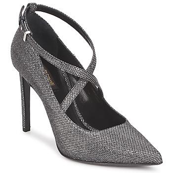 Schuhe Damen Pumps Roberto Cavalli WDS234 Grau