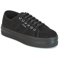 Schuhe Damen Sneaker Low Victoria BLUCHER ANTELINA PLATAFORMA Schwarz
