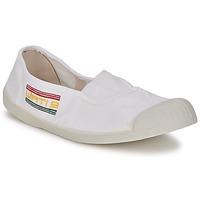 Schuhe Damen Ballerinas Wati B LYNDA Weiss