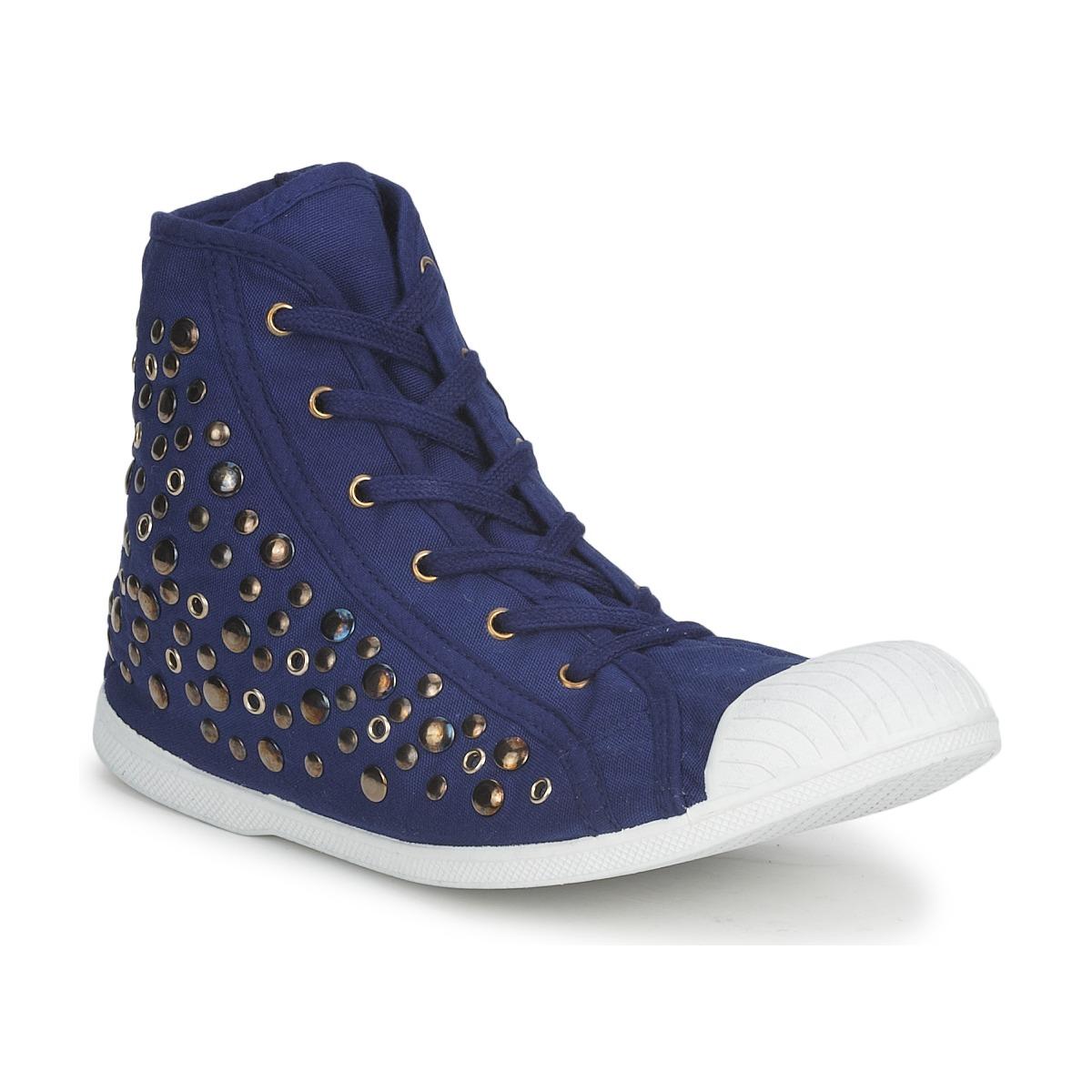 Wati B BEVERLY Marine - Kostenloser Versand bei Spartoode ! - Schuhe Sneaker High Damen 31,10 €