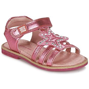 Schuhe Mädchen Sandalen / Sandaletten Agatha Ruiz de la Prada NUEL Rose