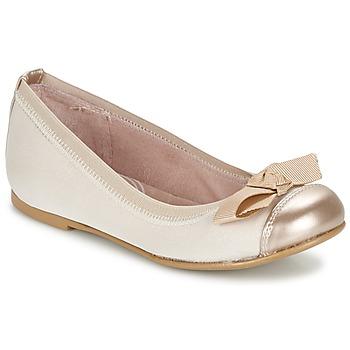Schuhe Mädchen Ballerinas Garvalin MAT Beige