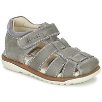 Schuhe Jungen Sandalen / Sandaletten Garvalin GALERA Grau