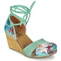 Schuhe Damen Sandalen / Sandaletten Art VALBY 499 Grün
