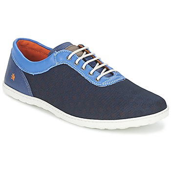 Schuhe Herren Sneaker Low Art QWERTY Blau