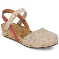 Schuhe Damen Sandalen / Sandaletten Art POMPEI 739 Beige