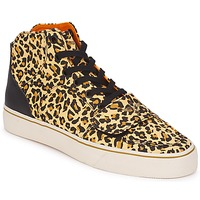 Schuhe Damen Sneaker High Creative Recreation W CESARIO XVI M Leopard