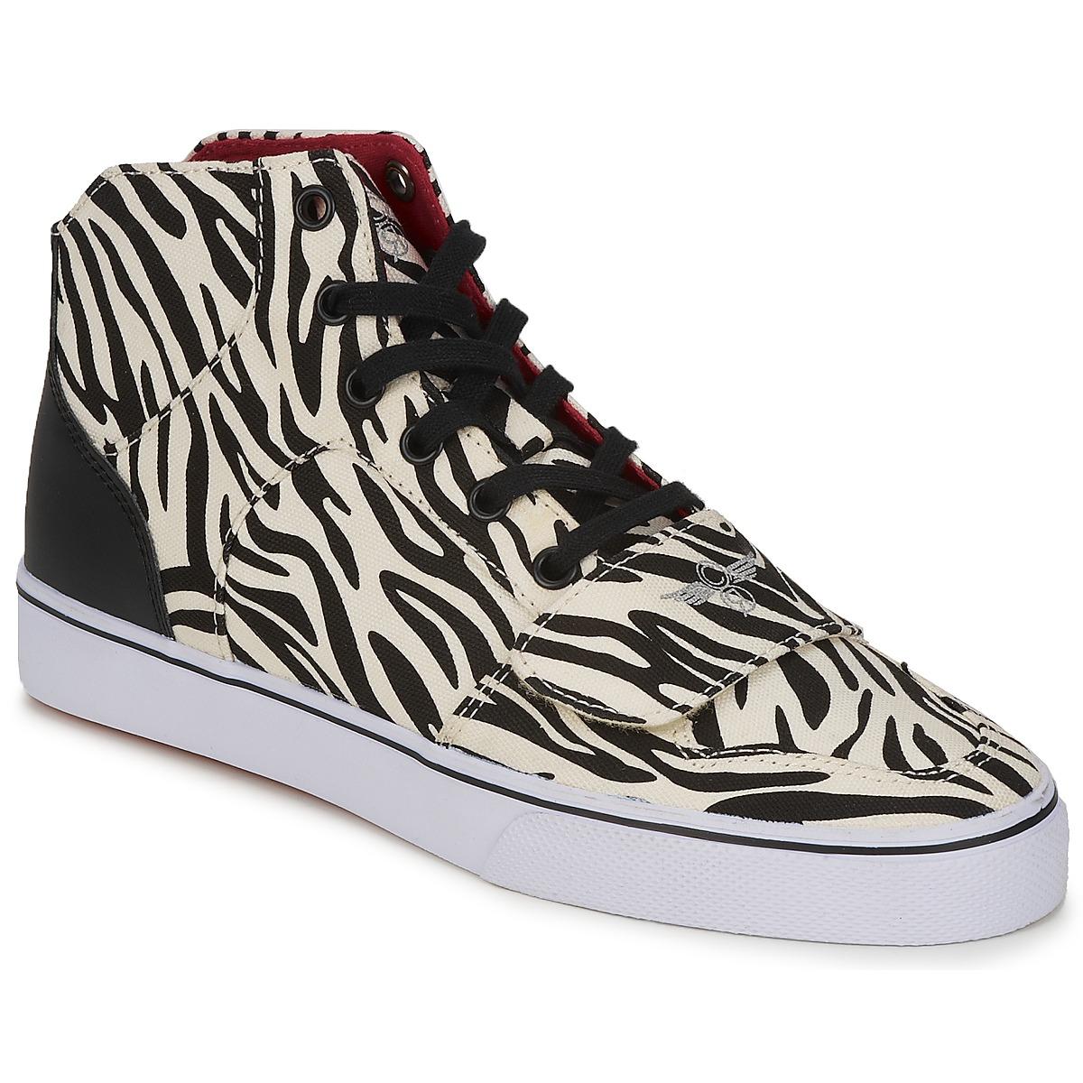 Creative Recreation W CESARIO XVI M Olive / gelb - Kostenloser Versand bei Spartoode ! - Schuhe Sneaker High Damen 44,50 €