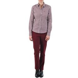 Kleidung Damen Chinohosen Gant C. COIN POCKET CHINO Bordeaux