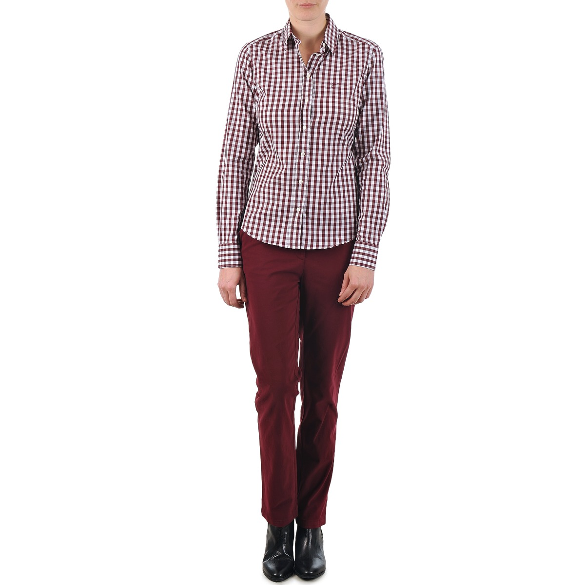 Gant C. COIN POCKET CHINO Bordeaux