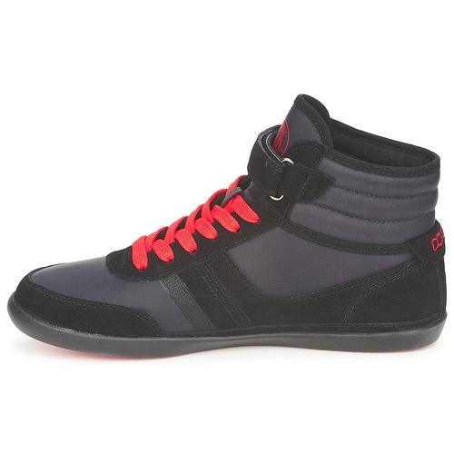 Dorotennis MONTANTE Schwarz STREET LACETS + VELCRO Schwarz MONTANTE  Schuhe TurnschuheHigh Damen 55,92 157149