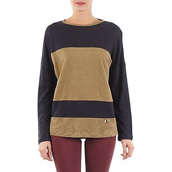 T-Shirts & Poloshirts TBS POOL Blau / Beige 350x350