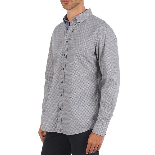 Hackett Medallion Multi Bd Blau - Kleidung Langärmelige Hemden Herren 11600