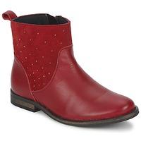 Schuhe Mädchen Boots Citrouille et Compagnie BELFINE Rot