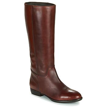 Schuhe Damen Klassische Stiefel Jonak CAVILA Camel