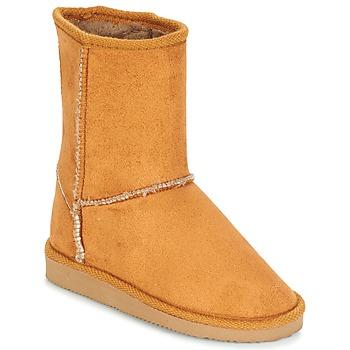 Schuhe Kinder Klassische Stiefel Citrouille et Compagnie ZOONO Beige