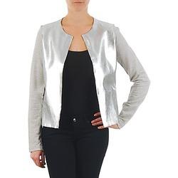 Kleidung Damen Jacken / Blazers Majestic 93 Grau / Silbern