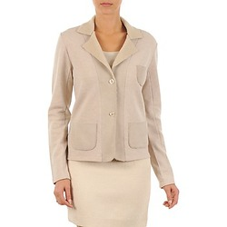 Kleidung Damen Jacken / Blazers Majestic 244 Beige