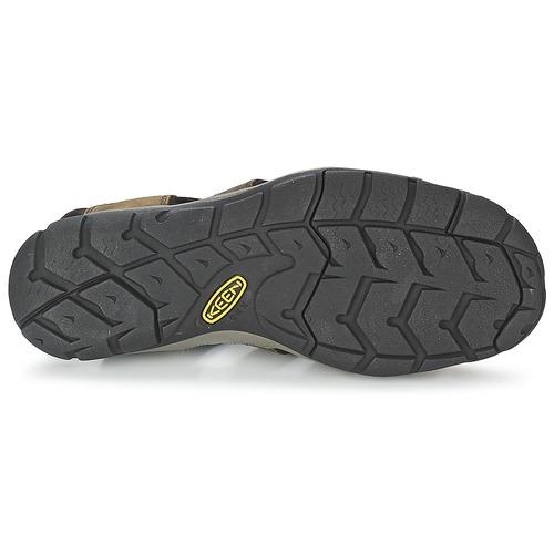 Keen CLEARWATER CNX LEATHER Braun / Schwarz  Schuhe Sportliche Sandalen Herren 87,96
