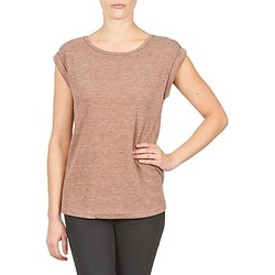 Kleidung Damen T-Shirts Color Block 3203417 Rose / Grau