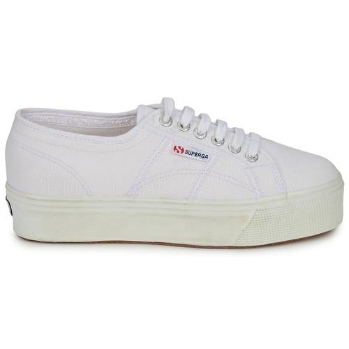 Superga 2790 LINEA UP AND Weiss  Schuhe Sneaker Low Damen 84,99