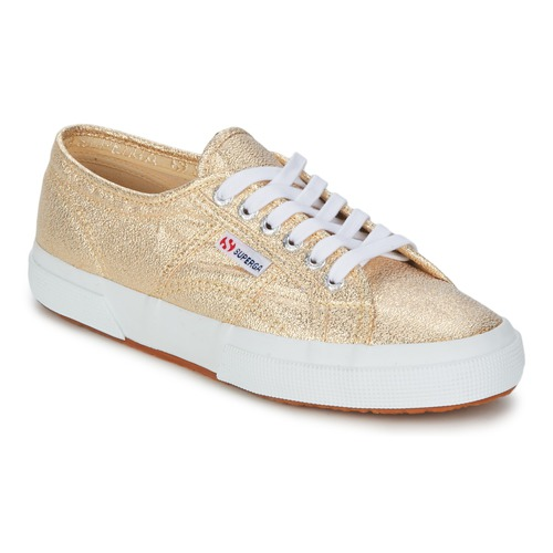 Superga 2751 LAMEW Gold  Schuhe Sneaker Low Damen 84,99