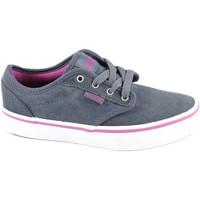 Schuhe Kinder Sneaker Low Vans ATWOOD ZUSGL2 obbre bl Schuhe Mädchen Unisex Sneakers Stoff Blu