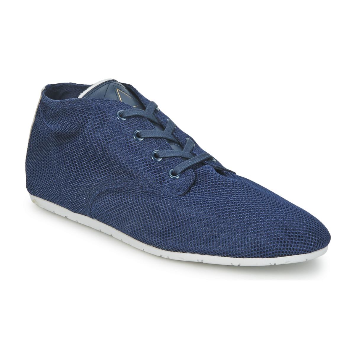 Eleven Paris BASIC MATERIALS Marine - Kostenloser Versand bei Spartoode ! - Schuhe Sneaker High  37,00 €