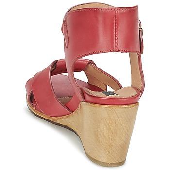 Neosens NOAH Rot - Kostenloser Versand    - Schuhe Sandalen / Sandaletten Damen 13596