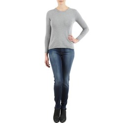 Kleidung Damen Slim Fit Jeans 7 for all Mankind THE SKINNY NEW ORL FLAME Blau