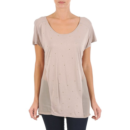 T-Shirts & Poloshirts La City MC BEIGE Beige 350x350