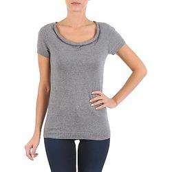Kleidung Damen T-Shirts La City PULL COL BEB Grau