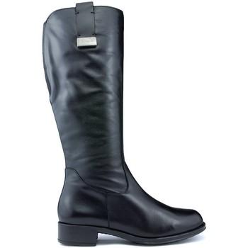 Schuhe Damen Klassische Stiefel CallagHan BOND SCHWARZ