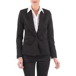 Kleidung Damen Jacken / Blazers La City VBASIC Schwarz