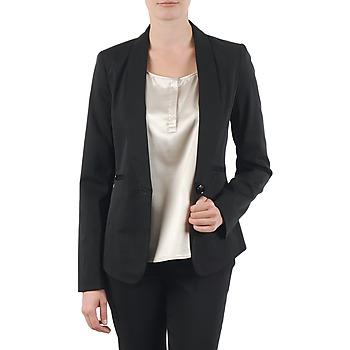Kleidung Damen Jacken / Blazers La City FIDELIS Schwarz
