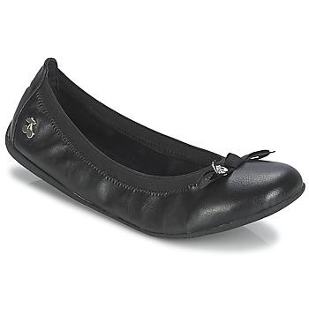 Schuhe Damen Ballerinas Le Temps des Cerises LILOU Schwarz