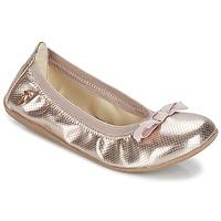 Schuhe Mädchen Ballerinas Le Temps des Cerises LILOU Goldfarben