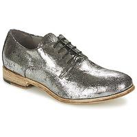 Schuhe Damen Boots Now SMOGY Silbern