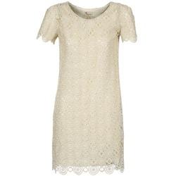 Kleidung Damen Kurze Kleider Stella Forest ARO051 Naturfarben / Goldfarben