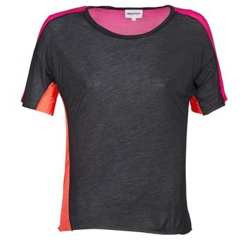 T-Shirts & Poloshirts American Retro CAROLE Schwarz / Rose 350x350