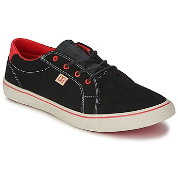 Schuhe Damen Sneaker Low DC Shoes COUNCIL W Schwarz / Rot