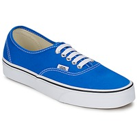 Schuhe Sneaker Low Vans AUTHENTIC Blau / Weiss