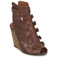 Schuhe Damen Sandalen / Sandaletten Dkode THYONE Cognac