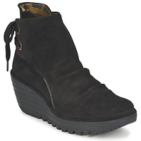 Schuhe Damen Low Boots Fly London YAMA Schwarz