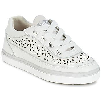 Schuhe Mädchen Sneaker Low Geox CIAK G. H Weiss
