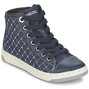 Schuhe Mädchen Sneaker High Geox CREAMY B Marine